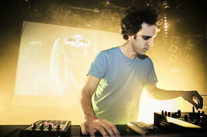 Four Tet performs during the Red Bull Music Academy Bass Camp in Vienna, Austria on November 16th, 2013 // Victoria Kager / Red Bull Content Pool // P-20131117-00018 // Usage for editorial use only // Please go to www.redbullcontentpool.com for further information. //